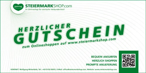 Steiermarkshop Gutschein
