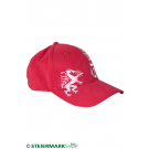 Steiermarkkappe Stick rot