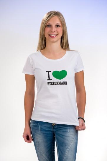 I Love Steiermark T-Shirt kurzarm