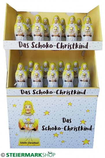 Schoko-Christkind Display