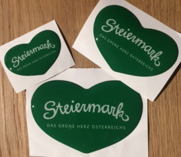 Steiermark Doming Aufkleber Set