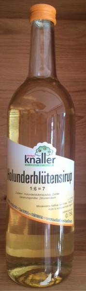 Kräutersirup Holunderblüte