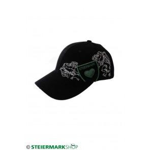 Steiermarkkappe schwarz