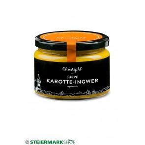 Karotte - Ingwer Suppe