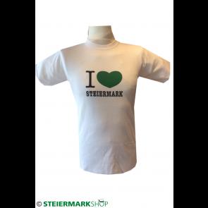 """""""I love Steiermark"""" Shirt; Herren"""
